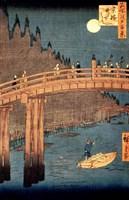 Kyoto Bridge by Moonlight Fine-Art Print