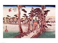 Fuji from Yoshiwara Fine-Art Print