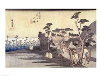 Oiso: Toraga Ame Shower Fine-Art Print