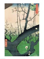Branch of a Flowering Plum Tree Fine-Art Print