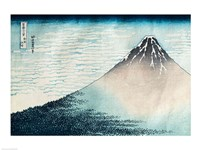 Fuji in Clear Weather Fine-Art Print