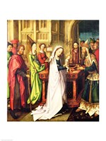 Depiction of Christ in the Temple, 1500 Fine-Art Print