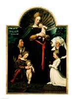 Madonna of the Burgermeister Meyer Fine-Art Print