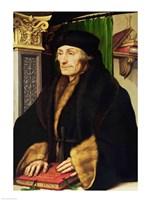 Portrait of Erasmus, 1523 Fine-Art Print