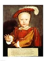 Portrait of Edward VI as a child Fine-Art Print