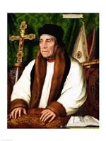 Portrait of William Warham  Archbishop of Canterbury, 1527 Fine-Art Print