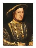 Portrait of Henry VIII C Fine-Art Print