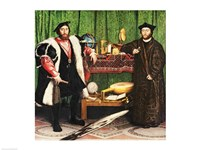 The Ambassadors, 1533 Fine-Art Print