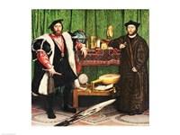 The Ambassadors, 1533 Fine-Art Print