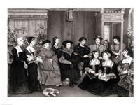 The Family of Thomas More Fine-Art Print