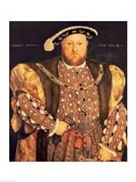 Portrait of Henry VIII A Fine-Art Print