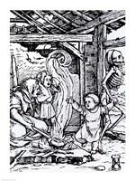 Death Taking a Child Fine-Art Print