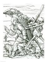 Death and the Pedlar Fine-Art Print
