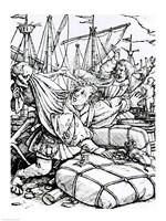 Death and the Merchant Fine-Art Print