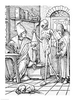 Death and the Physician Fine-Art Print