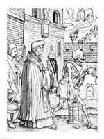 Death and the Parish Priest Fine-Art Print