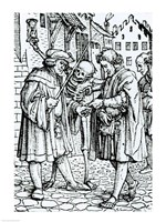 Death and the Barrister Fine-Art Print