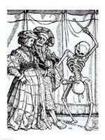 Death and the Noblewoman Fine-Art Print