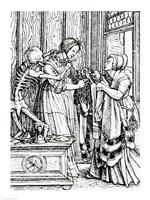 Death and the Mistress Fine-Art Print