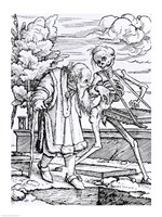 Death and the Old Man Fine-Art Print
