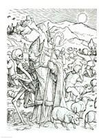 Death and the Bishop Fine-Art Print