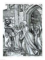 Death and the Abbotess Fine-Art Print
