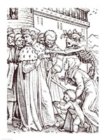 Death and the Duke Fine-Art Print