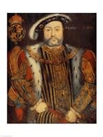 Portrait of Henry VIII B Fine-Art Print