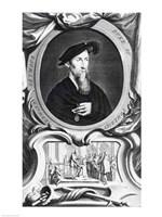 Portrait of Edward Seymour, 1536, Detail Fine-Art Print