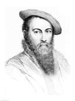 Sir Thomas Wyatt Fine-Art Print
