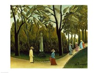 The Monument to Chopin in the Luxembourg Gardens, 1909 Fine-Art Print
