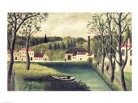 Landscape with a Fisherman Fine-Art Print