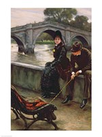 Richmond Bridge, c.1878 Fine-Art Print