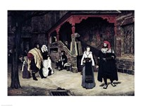 The Meeting of Faust and Marguerite, 1860 Fine-Art Print