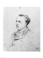 Emmanuel Chabrier aged 20, 1861 Fine-Art Print
