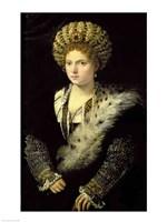 Portrait of Isabella d'Este Fine-Art Print