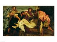 The Entombment of Christ Fine-Art Print