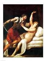 The Rape of Lucretia Fine-Art Print