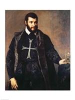 Portrait of a Knight of the Order of Malta Fine-Art Print
