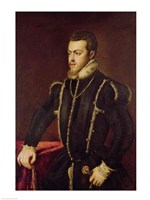 Portrait of Philip II Fine-Art Print