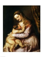 The Virgin and Child Fine-Art Print