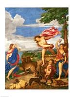 Bacchus and Ariadne Panel Fine-Art Print