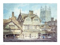 Wrexham, Denbighshire Fine-Art Print