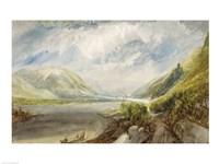 Junction of the Lahn, 1817 Fine-Art Print