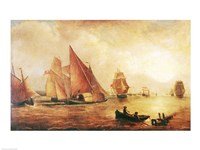 Estuary of the Thames and the Medway Fine-Art Print