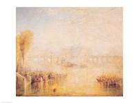 View of the Pont Neuf, Paris Fine-Art Print