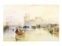 View of Carnarvon Castle Fine-Art Print