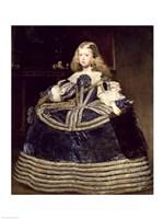 Infanta Margarita in Blue, 1659 Fine-Art Print