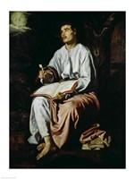 St. John the Evangelist on the Island of Patmos Fine-Art Print