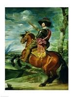 Equestrian Portrait of Don Gaspar de Guzman Fine-Art Print
